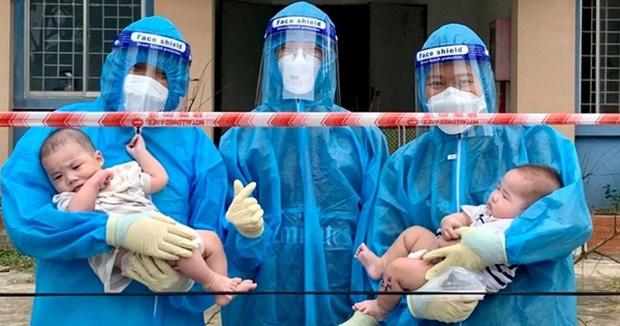 2 trẻ bị bỏ rơi tại bệnh viện bị nhiễm COVID-19 - Ảnh 1.