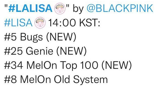 Thứ hạng nhạc số thấp lẹt đẹt, LALISA bị Knet chê tơi tả, kết luận giọng Lisa như trẻ con và còn so với Somi? - Ảnh 2.