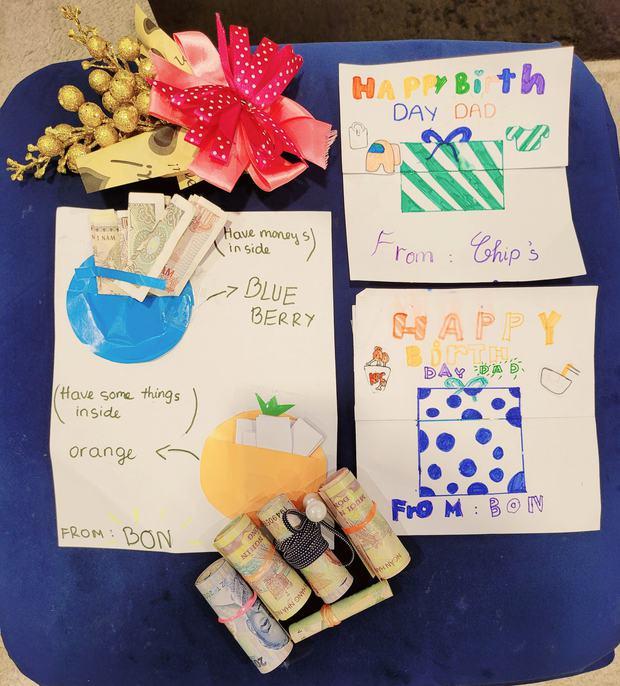 Shark Long Mạnh Trường được 2 con chuẩn bị sinh nhật từ A-Z, tặng quà gì mà bố thốt lên ghê gớm thật? - Ảnh 3.