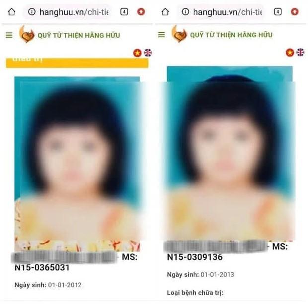 CĐM phát hiện hàng loạt bất thường về hồ sơ bệnh nhi của Quỹ từ thiện Hằng Hữu: 1 ảnh chân dung 2 hồ sơ, ngày phẫu thuật sớm hơn ngày sinh... 1 năm - Ảnh 1.