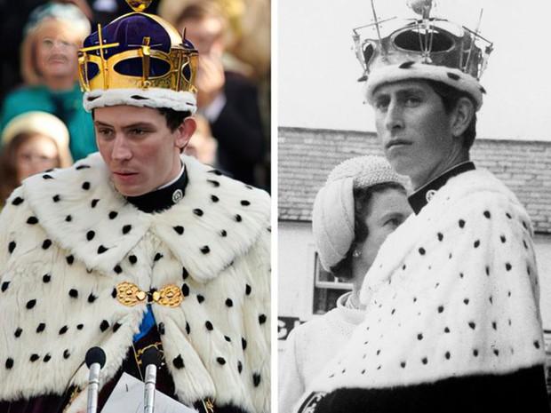 12 lần The Crown tái hiện lịch sử, tạo hình Hoàng gia Anh sao y bản gốc: Xuất sắc đến mức khó phân biệt! - Ảnh 8.