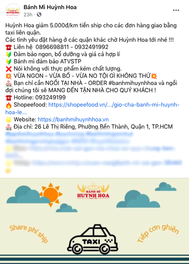 Đã tìm ra hàng bánh mì chơi lớn nhất Sài Gòn mùa dịch: Ship hàng bằng taxi, giá gom đơn tận 75k/ổ! - Ảnh 5.