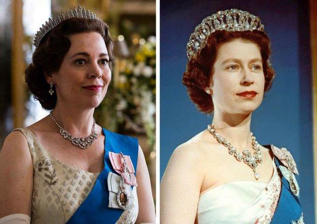 12 lần The Crown tái hiện lịch sử, tạo hình Hoàng gia Anh sao y bản gốc: Xuất sắc đến mức khó phân biệt! - Ảnh 6.