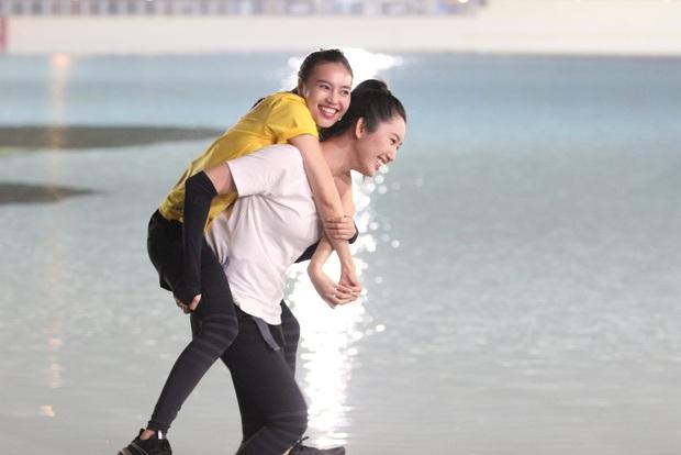 Running Man Việt mùa 2 còn chưa lên sóng, Lan Ngọc đã tự đẩy thuyền với một thành viên! - Ảnh 3.