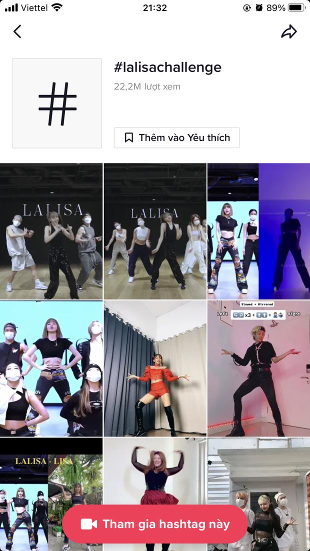 Sức hút khổng lồ từ Lisa: 3 tỷ view cho hashtag #LALISA trên TikTok, tạo ra trào lưu hàng triệu người tham gia! - Ảnh 5.