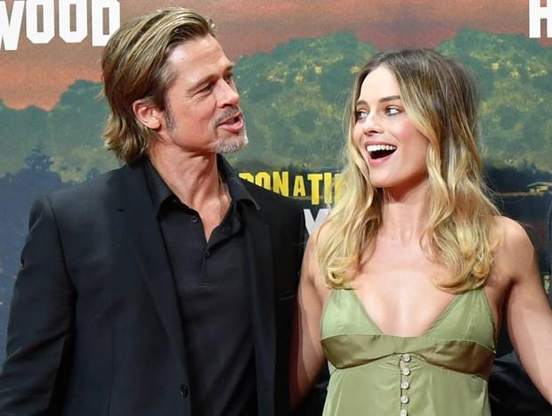 Rộ tin Brad Pitt tán tỉnh Harley Quinn Margot Robbie, dù biết đằng kia đã có chồng nhưng vẫn đâm đầu? - Ảnh 4.
