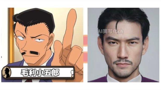 Khi dàn nhân vật Conan hóa người thật: Shinichi chuẩn chồng quốc dân, Ran bất ngờ bị át visual bởi cô bạn thân? - Ảnh 4.