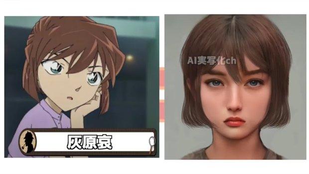 Khi dàn nhân vật Conan hóa người thật: Shinichi chuẩn chồng quốc dân, Ran bất ngờ bị át visual bởi cô bạn thân? - Ảnh 12.