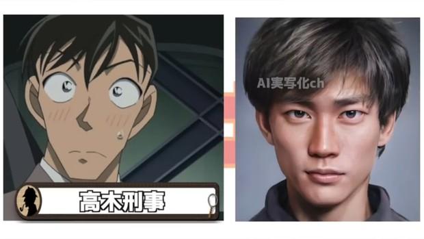 Khi dàn nhân vật Conan hóa người thật: Shinichi chuẩn chồng quốc dân, Ran bất ngờ bị át visual bởi cô bạn thân? - Ảnh 9.