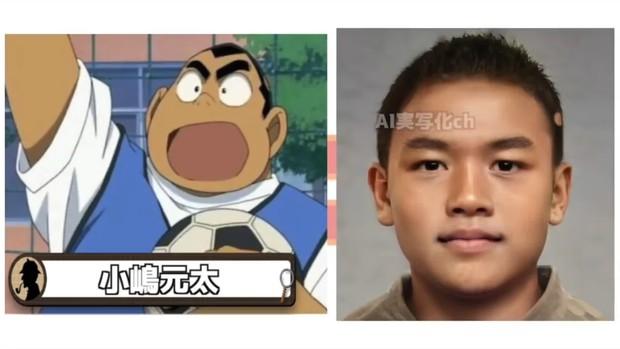 Khi dàn nhân vật Conan hóa người thật: Shinichi chuẩn chồng quốc dân, Ran bất ngờ bị át visual bởi cô bạn thân? - Ảnh 15.