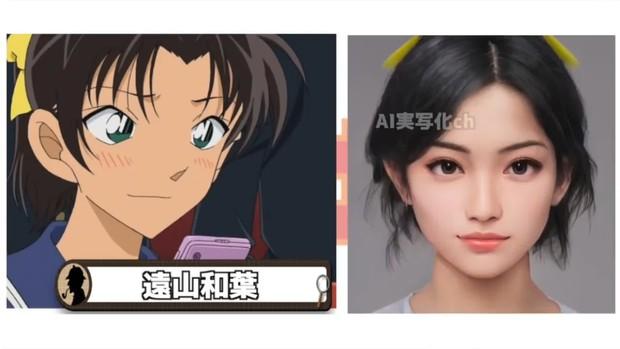 Khi dàn nhân vật Conan hóa người thật: Shinichi chuẩn chồng quốc dân, Ran bất ngờ bị át visual bởi cô bạn thân? - Ảnh 7.