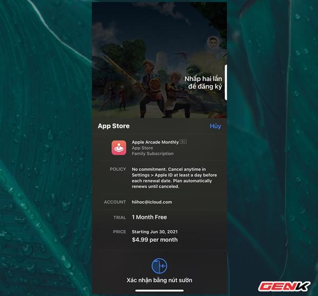 Cách đăng ký và trải nghiệm kho game độc quyền của Apple trên iPhone - Ảnh 5.