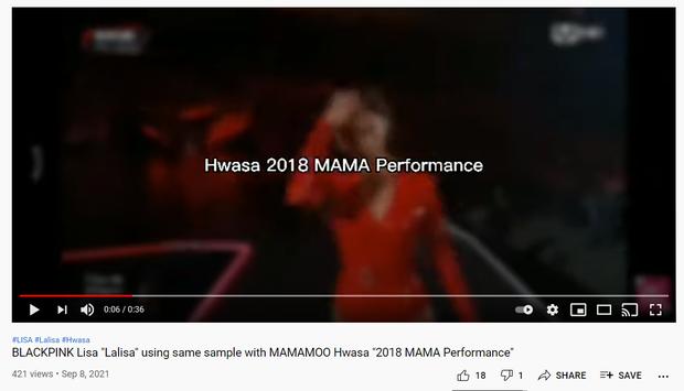 Tranh cãi bài solo của Lisa có giai điệu giống hệt tiết mục của Hwasa (MAMAMOO), là đạo nhái hay dùng chung sample? - Ảnh 4.