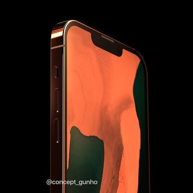 Hé lộ concept iPhone 13 màu cam đồng cực kỳ hút mắt, thế này lại phải cháy ví rồi - Ảnh 4.