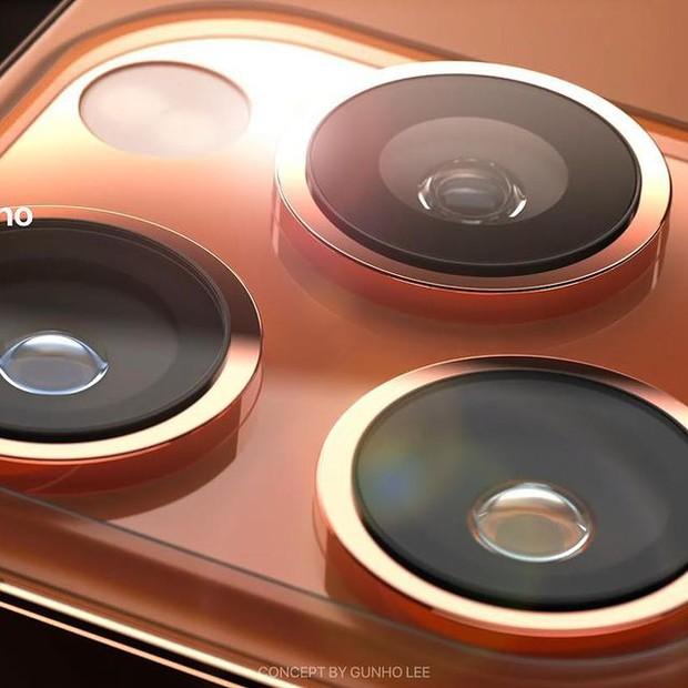 Hé lộ concept iPhone 13 màu cam đồng cực kỳ hút mắt, thế này lại phải cháy ví rồi - Ảnh 3.