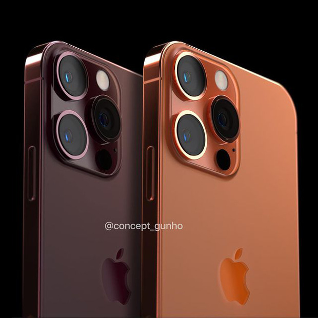 Hé lộ concept iPhone 13 màu cam đồng cực kỳ hút mắt, thế này lại phải cháy ví rồi - Ảnh 6.