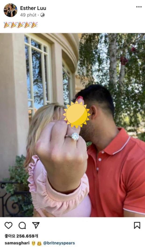 Chúc mừng Britney Spears được bạn trai cầu hôn, Hari Won bị chỉ trích vô lý vì tưởng đang khịa ai đó - Ảnh 2.