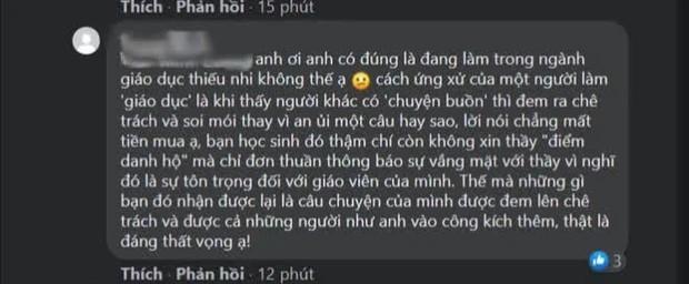 Sinh viên xin vắng học vì nhà có người mất, giảng viên kiêm MC VTV đăng lên Facebook mỉa mai: Nghỉ học có làm em đỡ buồn hơn không? - Ảnh 4.