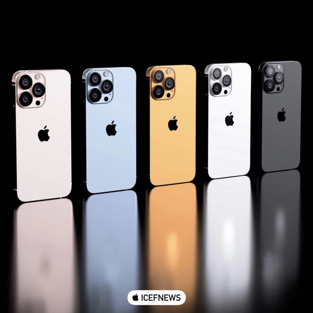 Trước ngày ra mắt, iPhone 13 lộ concept màu ocean blue giống hệt hint trên thư mời? - Ảnh 2.