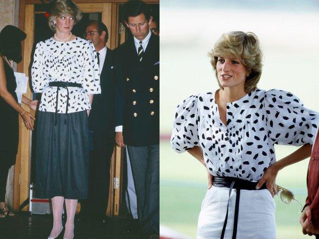Cao tay như Công nương Diana: 8 lần biến tấu đồ cũ thành mới mà không ai hay biết - Ảnh 2.