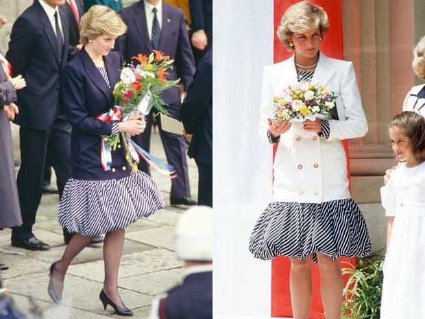 Cao tay như Công nương Diana: 8 lần biến tấu đồ cũ thành mới mà không ai hay biết - Ảnh 3.