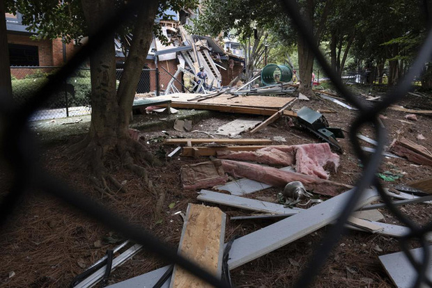 Mỹ: Nổ lớn làm rung chuyển tòa nhà chung cư ở ngoại ô Atlanta, khiến 4 người bị thương - Ảnh 3.
