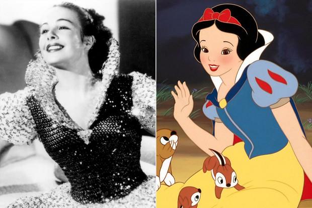 Loạt mỹ nhân là cảm hứng đời thật của các công chúa Disney, nhan sắc ngút ngàn nhất có phải là Bạch Tuyết? - Ảnh 1.
