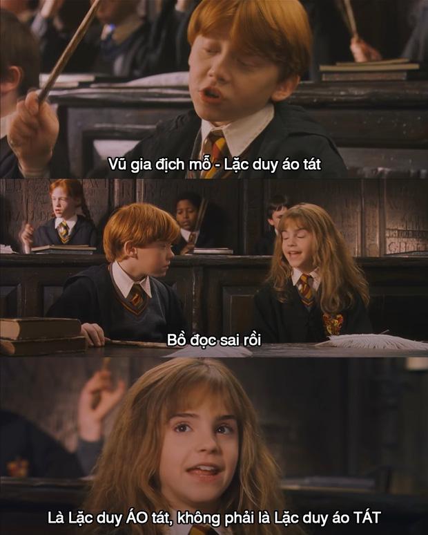Ngất xỉu khi tên riêng trong Harry Potter được phiên âm Hán Việt: Xoắn hết cả lưỡi, nghe tên Hogwarts hết muốn đi học! - Ảnh 2.
