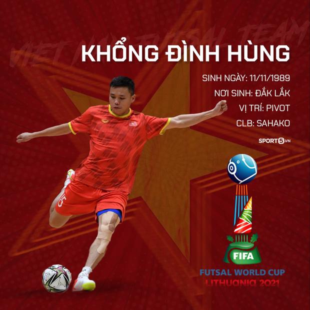 World Cup 2021: Tiến lên, những chiến binh áo đỏ của ĐT futsal Việt Nam! - Ảnh 2.