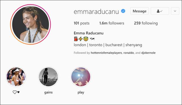 Nữ tay vợt tuổi teen xinh đẹp bị khóa tài khoản vì lượng fan tăng khủng khiếp, lên tới cả triệu follow chỉ sau vài ngày - Ảnh 1.