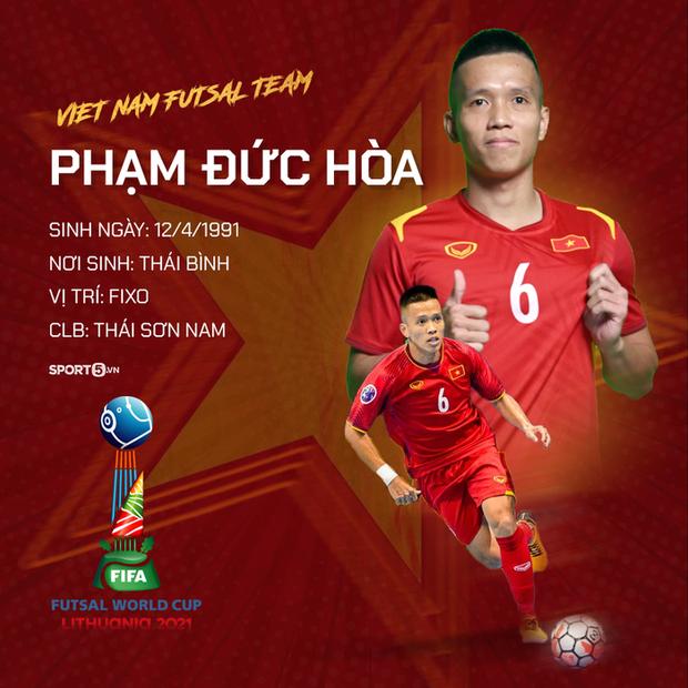 World Cup 2021: Tiến lên, những chiến binh áo đỏ của ĐT futsal Việt Nam! - Ảnh 12.