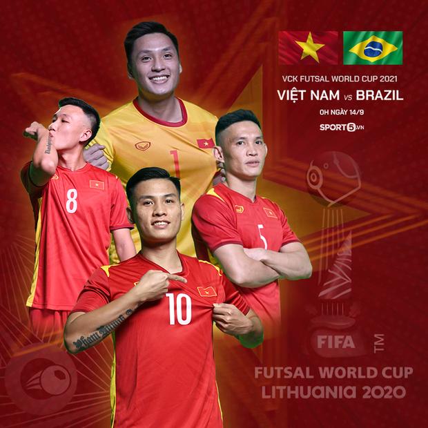 World Cup 2021: Tiến lên, những chiến binh áo đỏ của ĐT futsal Việt Nam! - Ảnh 15.
