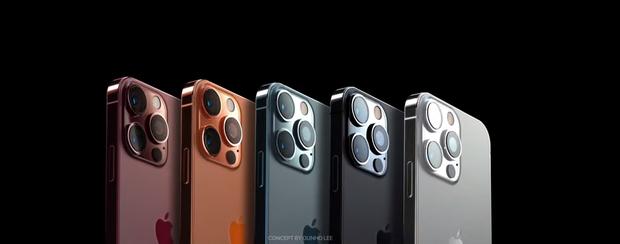 Hé lộ concept iPhone 13 màu cam đồng cực kỳ hút mắt, thế này lại phải cháy ví rồi - Ảnh 1.