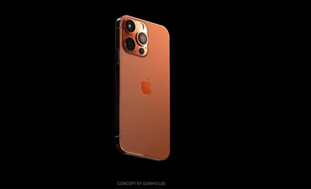 Hé lộ concept iPhone 13 màu cam đồng cực kỳ hút mắt, thế này lại phải cháy ví rồi - Ảnh 5.