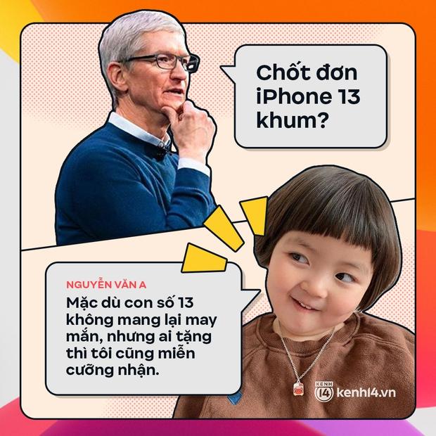 Trước giờ G: Xem Gen Z bàn tán gì về iPhone 13, đọc mà muốn rớt nước mắt! - Ảnh 1.