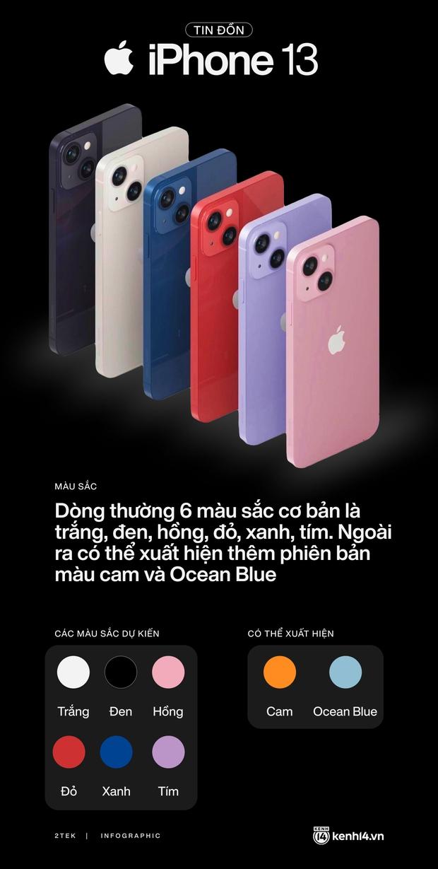 Tất tần tật tin đồn về 4 mẫu iPhone 13 trước giờ ra mắt vào 0h đêm nay! - Ảnh 1.