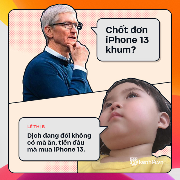 Trước giờ G: Xem Gen Z bàn tán gì về iPhone 13, đọc mà muốn rớt nước mắt! - Ảnh 2.