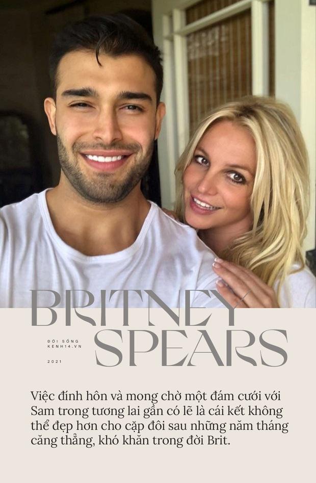 Britney Spears đính hôn cùng Sam Asghari: Tình yêu không cứu giúp nhưng sẽ nắm tay trong lúc bạn tự cứu chính mình - Ảnh 2.