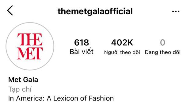 Trang MET Gala 400 nghìn follow đăng ảnh Rosé vô tình hé lộ 1 đàn em của BLACKPINK cũng bí mật tham gia? - Ảnh 2.