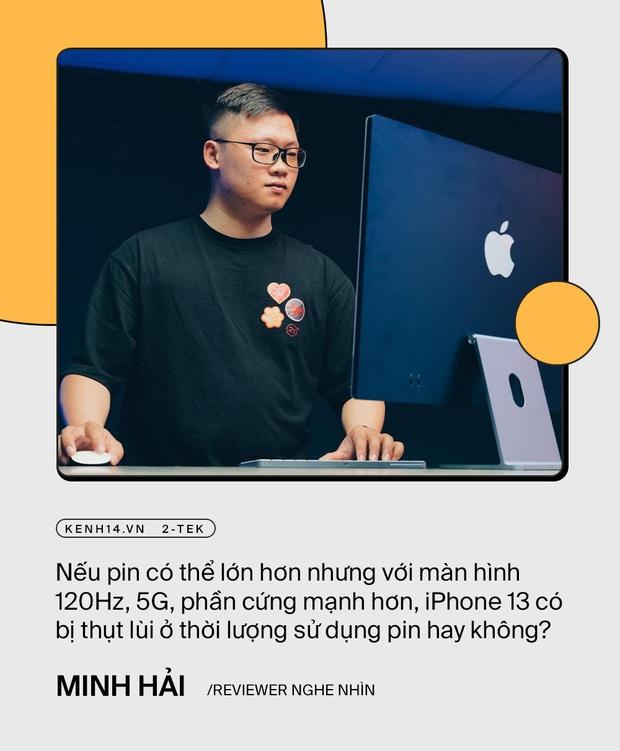 Trước giờ ra mắt iPhone 13, trai xinh gái đẹp làng công nghệ nói gì về siêu phẩm này? - Ảnh 17.
