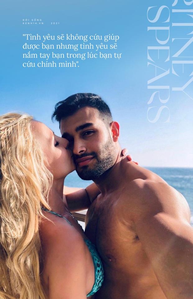 Britney Spears đính hôn cùng Sam Asghari: Tình yêu không cứu giúp nhưng sẽ nắm tay trong lúc bạn tự cứu chính mình - Ảnh 5.