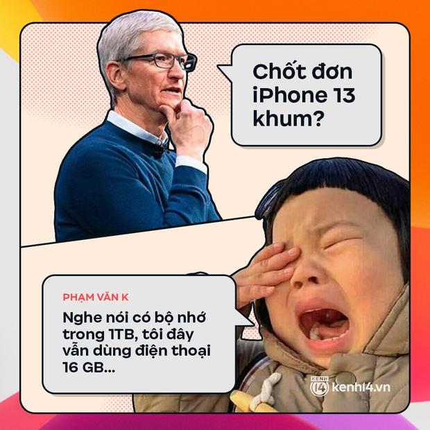Trước giờ G: Xem Gen Z bàn tán gì về iPhone 13, đọc mà muốn rớt nước mắt! - Ảnh 9.