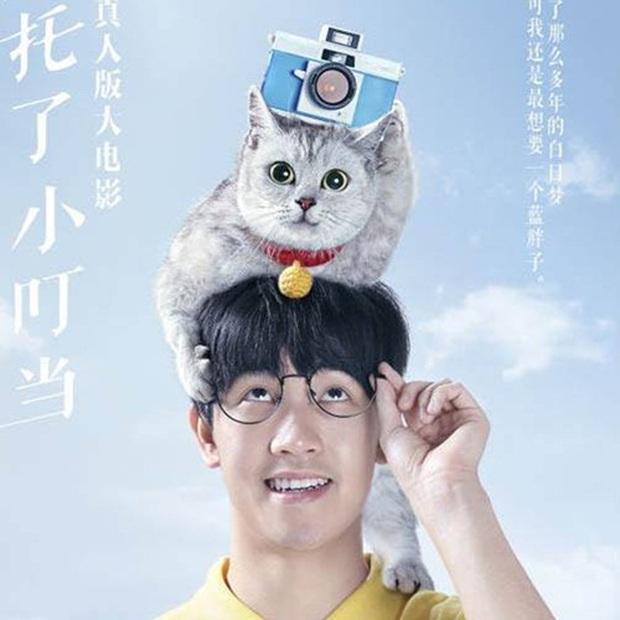 Phiên bản Doraemon người thật băm nát nguyên tác của xứ Trung: Dàn nhân vật già khằn, Suneo (Xêkô) đẹp trai nhất hội? - Ảnh 3.