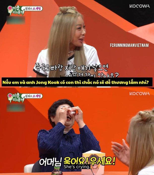 Mẹ Kim Jong Kook phát khóc khi rapper Jessi muốn có con với con trai mình? - Ảnh 4.