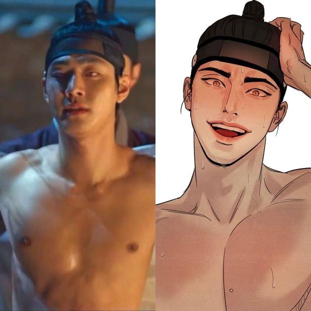 Tạo hình bạn trai Kim Yoo Jung ở bom tấn cổ trang gây tranh cãi vì giống hệt một thiếu gia cuồng sex nổi tiếng? - Ảnh 6.
