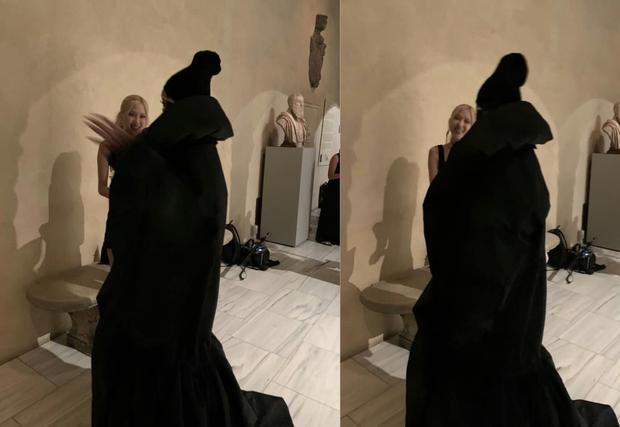 Rosé (BLACKPINK) hóa Bộ trưởng Bộ Ngoại giao ở Met Gala: Hết đọ sắc với Gigi Hadid, Olivia lại đến tíu tít với cả Rihanna - Ảnh 3.
