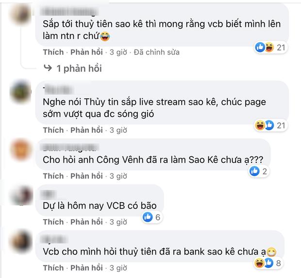 Đến hẹn sao kê 15/9, netizen tổng tấn công fanpage Thuỷ Tiên - Công Vinh, ngân hàng Vietcombank tiếp tục hứng bão phẫn nộ - Ảnh 2.