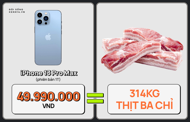 Một chiếc iPhone 13 có thể mua được: 5,5 tấn rau, 471 thùng mì hoặc tới 4 năm ăn phở!!! - Ảnh 5.