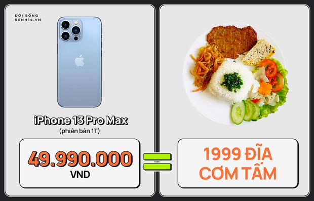Một chiếc iPhone 13 có thể mua được: 5,5 tấn rau, 471 thùng mì hoặc tới 4 năm ăn phở!!! - Ảnh 13.