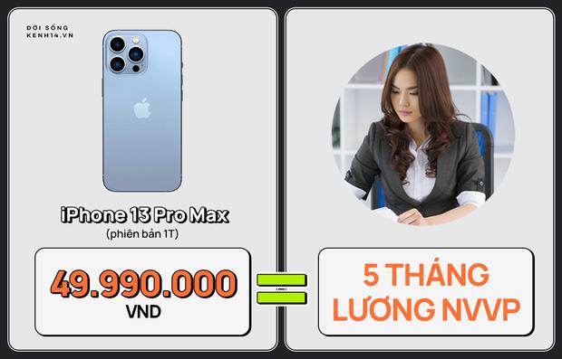 Một chiếc iPhone 13 có thể mua được: 5,5 tấn rau, 471 thùng mì hoặc tới 4 năm ăn phở!!! - Ảnh 23.